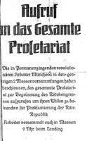 """""""Bei uns hats begonnen"""": Die Revolution von 1918 in der Ludwigsvorstadt-Isarvorstadt"""