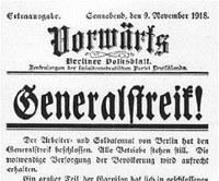 19. Juli: Novemberrevolution 1918/19 und Rätebewegungen
