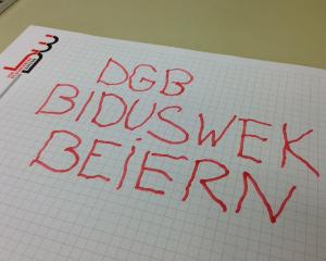 Bildungswerk sagt Analphabetismus in Bayern den Kampf an