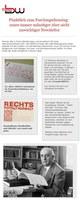 Keine Angst vor den Newslettern des DGB Bildungswerks