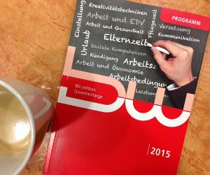 Seminarprogramm 2015 versendet
